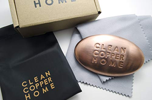 Waterless Copper Bar By The Sneaky Chef, Anti-Viral, Odor Eliminator and Copper Paper Weight