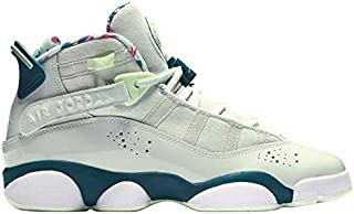 d84b428ca6ebbd Jordan 323431-003  Little Kids 6 Rings PS Barlet Grey White-Green