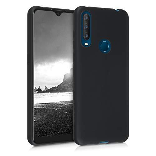 kwmobile Hülle kompatibel mit Alcatel 1S (2020) - Handyhülle - Handy Case in Schwarz