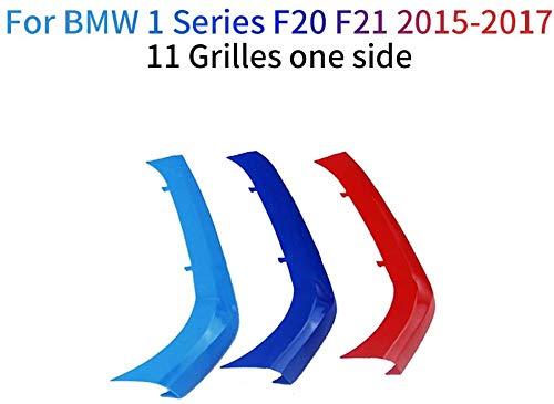 Froggen per BMW Serie 1 F20 F21 116 118 120 125 135 2015-2017 M colore griglia anteriore copertura inserto clip Trim Trim clip (11 griglie)