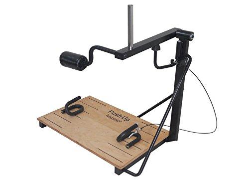 Becker-Sport Germany Push Up Master, ist EIN Liegestütz-Trainings - Gerät für Profis. Bis 80 kg zusätzliches Gewicht können Sie auflegen.