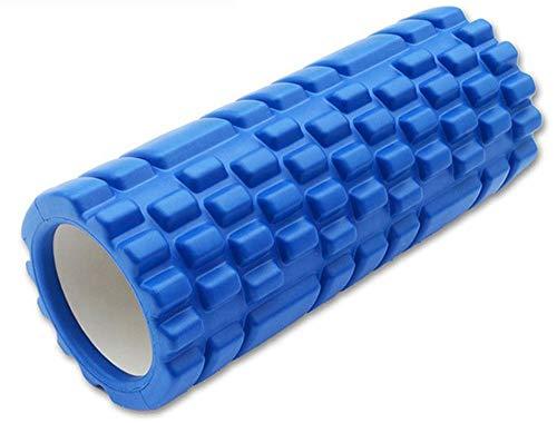 Feelino limity Fitnessrolle BLAU Faszienrolle Yogarolle Massagerolle aus Kunststoff ca. 14 x 33 cm