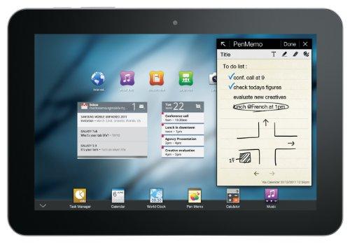 Samsung Galaxy Tab 8.9 P7300 Tablet (22,6 cm (8,9 Zoll) Touchscreen, 3G, 3 MP Kamera, Android 3.1, 16 GB interner Speicher) schwarz