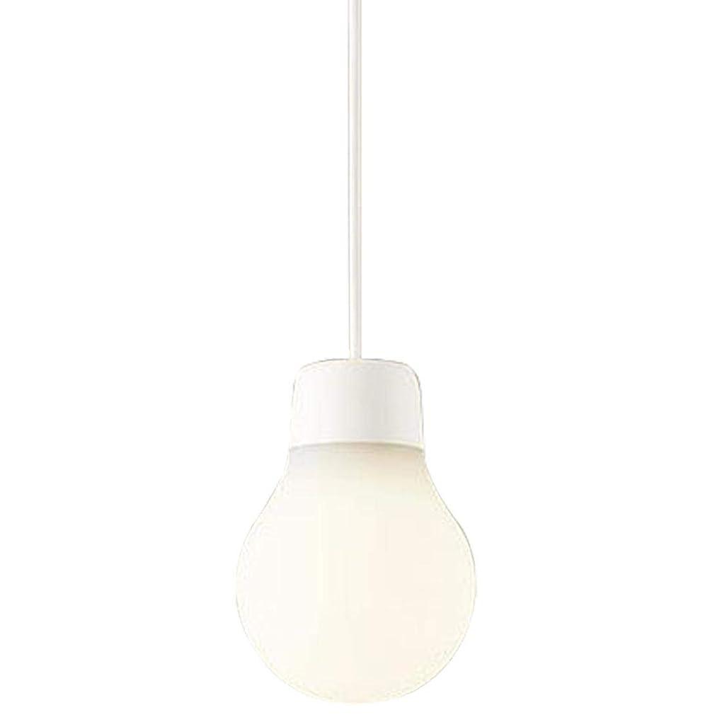 傾いた火傷目指すパナソニック(Panasonic) ペンダントライト LAMP DESIGN LGB11058WCE1 ダクト型 電球色 白紐 本体: 奥行10cm 本体: 高さ10cm 本体: 幅14.5cm