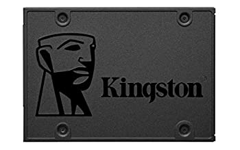 Kingston 480GB A400 SATA 3 2.5  Internal SSD SA400S37/480G - HDD Replacement for Increase Performance