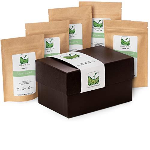 Especias Orgánicas Caja Regalo - Ideal Para Cocineros Profesionales O Aficionados - 20g Orégano 30g Tomillo 30g Romero 7 Laurel 20g Sabrosa