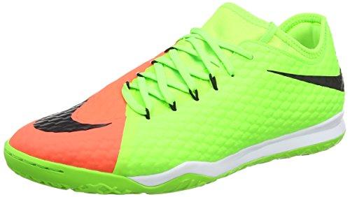 Nike Herren Hypervenomx Finale Ii Ic Fußballschuhe, Grün, Grün (Electric Green/black-hyper Orange-bright M), 44.5 EU