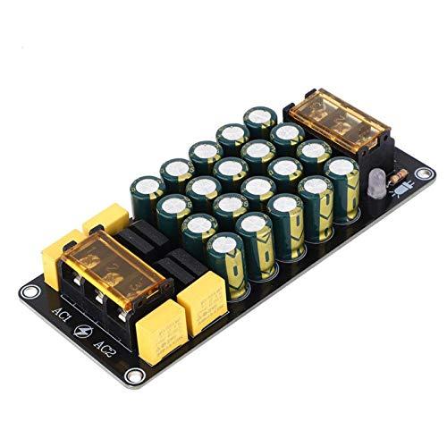 Jeanoko Filtro Amplificador Rectificador Rectificador Cobre estañado Alto Voltaje Alta Corriente 119 x 51 x 19 mm para proyectos de electrónica de construcción