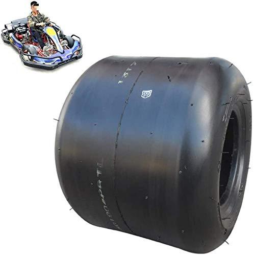 aipipl Neumático de Scooter eléctrico, 10X3.60-5 / 11X6.00-5 Neumáticos de vacío Resistentes al Desgaste a Prueba de explosiones de 5 Pulgadas, adecuados para reemplazar los neumáticos Delanteros y