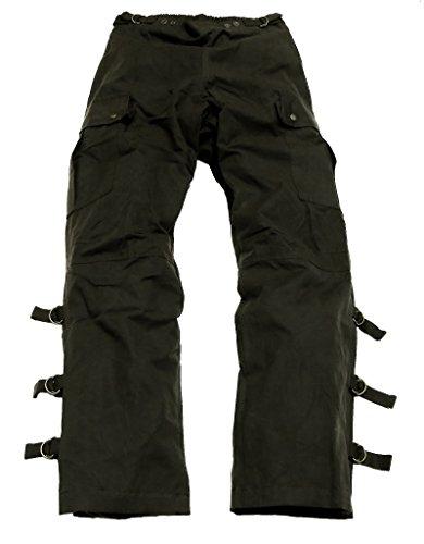 Kakadu Traders Wachs Überziehhose Walkabout Pants Schwarz X-Small