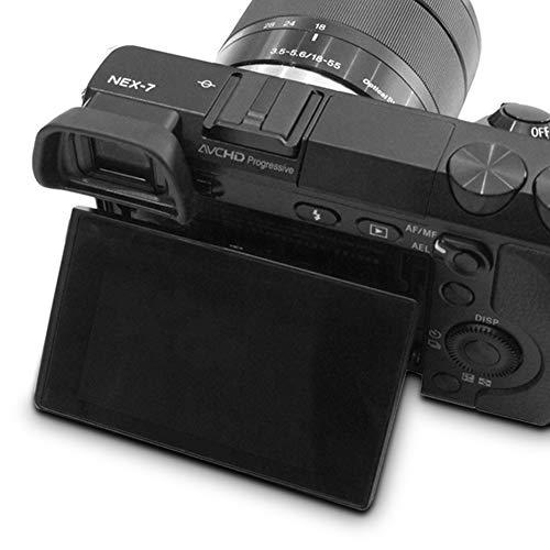 AFUNTA Mirino Oculare/Oculare per Sony Alpha A6000 A6300 A7000 NEX-6 NEX-7 FDA-EV1S Camera FDA-EP10 (2 Pezzi)