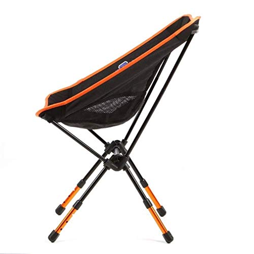 Wuzhengzhijia Klappstuhl schwarz Netto-Oberfläche Sonnenliege, höhenverstellbar beweglicher im Freien Angeln Stuhl, Rückenlehne Klappstuhl
