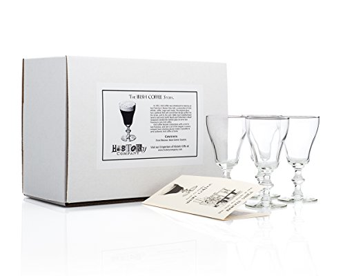 Original Irish Coffee Glass (Gift Box Set of 4)