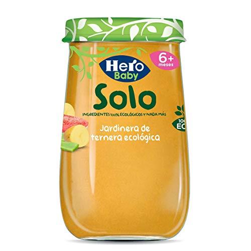 Hero Baby Solo Jardinera de Ternera Tarrito de Puré Ecológ