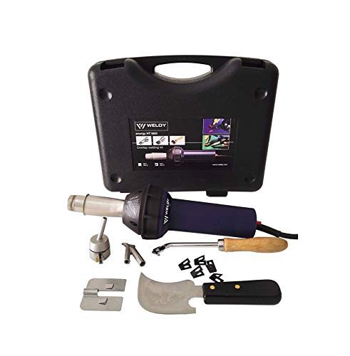 Weldy 1600W Hot Blast Torch Overlap Air Welding Gun Welder Pistol Tool Hot Air Gun (120 Voltage and flooring tools kit)