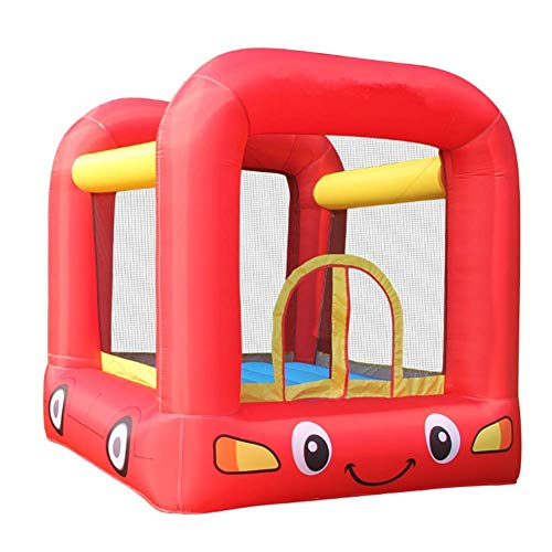 QULONG Hinchables y Castillos hinchables, Juguetes para niños al Aire Libre Grandes Parques de Atracciones Trampolines de jardín de Infantes 210 * 205 * 200 cm Garantía de Calidad