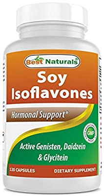 Best Naturals Soy Isoflavones 750 Mg 120 Capsules