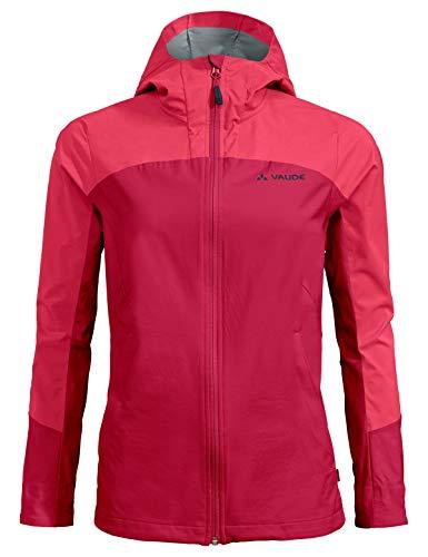 Vaude Damen Jacke Women's Skarvan Softshell Jacket II, Cranberry, 40, 41814