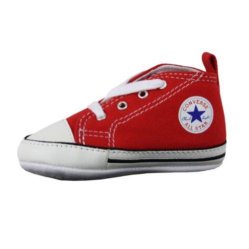 Converse Converse First Star Cvs 022110-12-4, Unisex - Kinder Sneaker, Rot (Rouge), EU 18