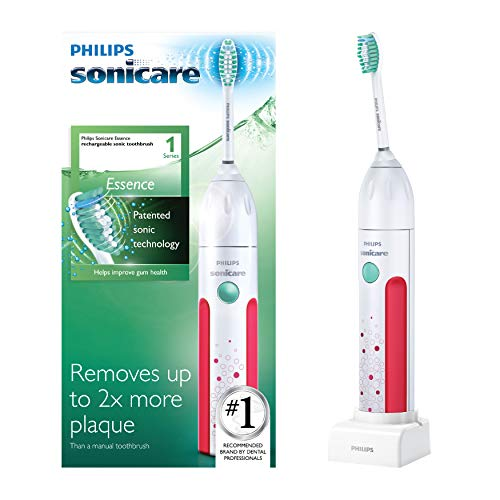 Philips Sonicare Essence Rechargeable Electric Toothbrush, Pink HX5631/50