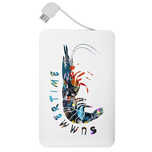 My Custom Style Powercard 8000 mAh ultraplana 135 x 67 x 14#Summer Time-Aragob#