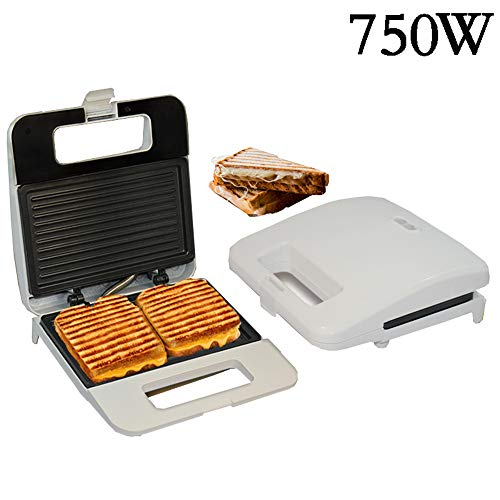 Fantastic Deal! ZK Electric Panini Press Iron Sandwich Maker Household Waffle Machine Non-Stick Coat...