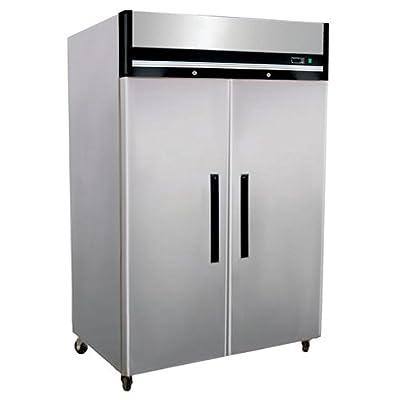 "Reach-In Freezer - Two Doors, 54-1/8""W"