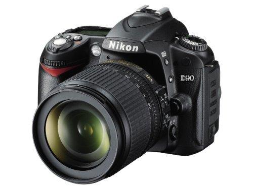 Nikon D90 - Cámara Réflex Digital 12.9 MP (Objetivo AF-S DX Nikkor 18-105mm f/3.5-5.6G...