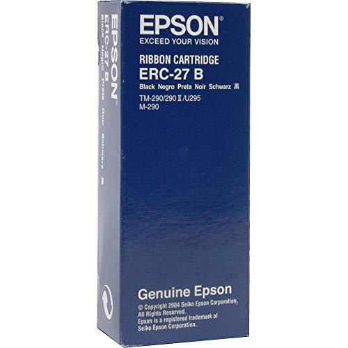 Epson ERC-27B - Cinta para Impresora, Color Negro