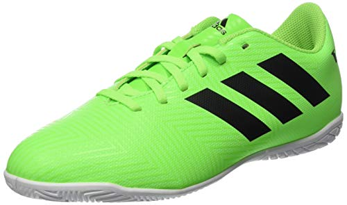 adidas Unisex-Kinder Nemeziz Messi Tango 18.4 in J Futsalschuhe, Grün (Versol/Negbás/Versol 000), 37 1/3 EU
