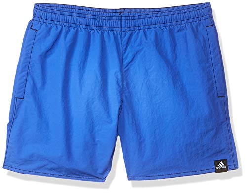 adidas Jungen Solid Badeshorts, Hi-Res Blue, 164