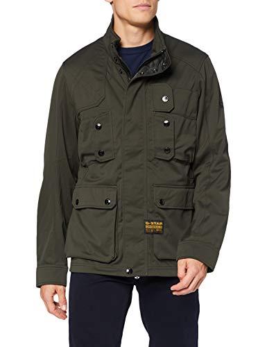 G-STAR RAW Mens Hunting Field Softshell JKT Jacket, Asfalt C082-995, Large