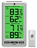 Ambient Weather WS-23 Big Digit 8-Channel Wireless Thermo-Hygrometer