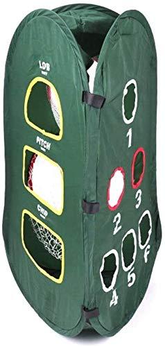 Red de Golf Red de prácticas de triángulo de Golf, Corte de Golf/Swing de Tres Caras de Neto, Jaula de bateo, Red de Golf, Verde ZSMFCD