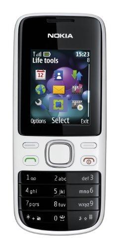 Nokia 2690 Telefono cellulare, quadriband,GPRS, Bluetooth, colore: Bianco/Argento