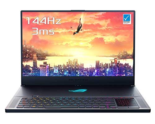 """Asus ZEPHYRUS-S-GX735GW-EV005T PC Portable Gamer 17"""" Gris métal (Intel Core i7, RAM 16 Go, SSD 512 Go, Nvidia GTX 2070 8 Go, Windows 10) Clavier AZERTY Français [Ancien Modèle]"""