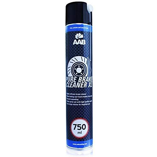AAB Pure Brake Cleaner XL 750ml - Potente Pulitore per Freni – Detergente per Bici, Disco Freno Moto, Brake Disc Cleaner, Detergente Catena Bici