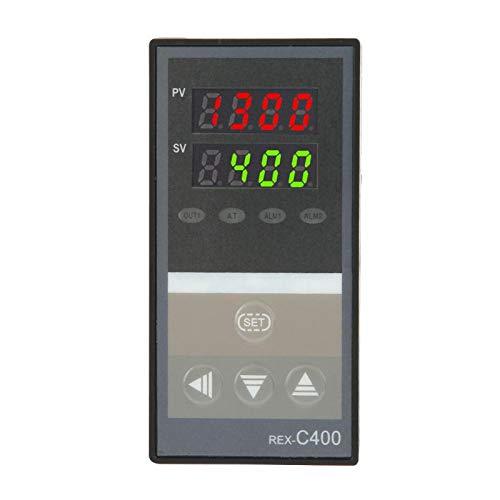 REX-C400FK02-V * AN Controlador de temperatura digital Controlador de temperatura Interruptor de temperatura para productos de calefacción de refrigeración con función de alarma