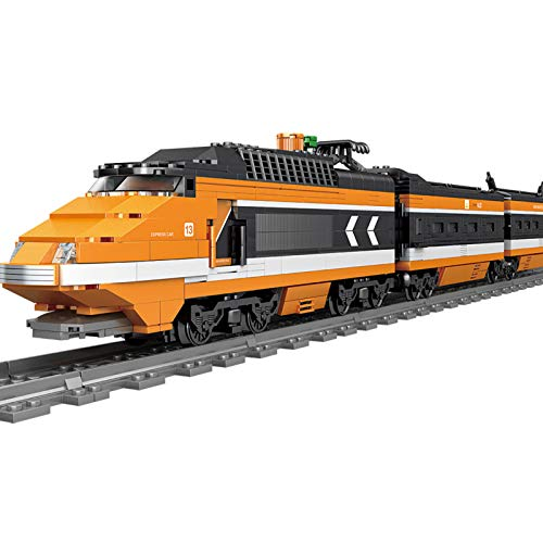 BOXX Technic Train Electrique Technique TGV Technic Train Telecommnade Jeu de Construction Compatible avec Les Grandes Marques