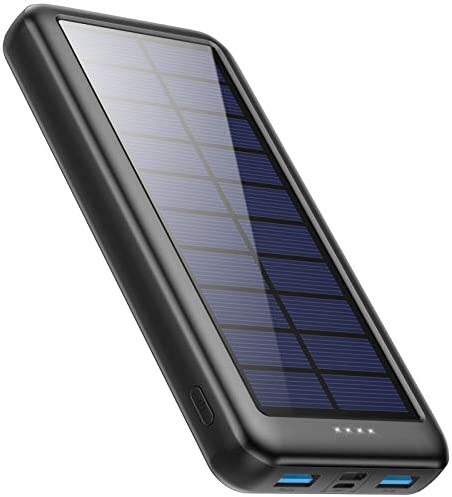 Solar Charger Power Bank 26800mAh Xooparc Portable Charger Fast Charging External Battery Pack product image