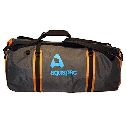 AQUAPAC Reisetasche Wasserdicht Upano, grau-schwarz-orange, 70 liters, 703