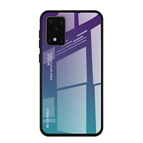 HAOYE Funda para Samsung Galaxy Note 10 Lite/A81 Fundas, Tapa Trasera de...