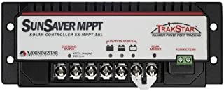 MORNINGSTAR CORPORATION SS-MPPT-15L Energy solar-charge-controllers SunSaver MPPT 15 Amp 12/24 Volt PWM Solar Controller
