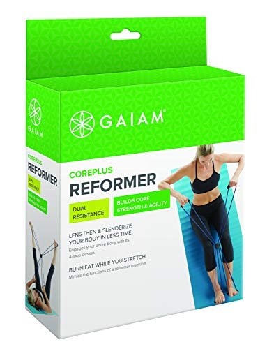 gaiam Coreplus, Kit Reformer Unisex – Adulto, Blu, Taglia Unica