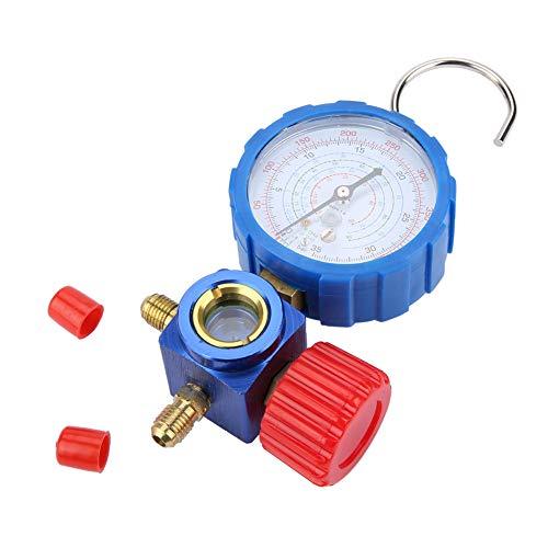 Nicoone Klimaanlage Manifold Gauge Manometer & Ventil 500Psi 35Kgf/ Cm² Mit Visuelle Spiegel