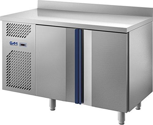 GAM Gastro Kühltisch Kühltheke 126 cm breit 2 Türen GN 1/1 ***NEU***