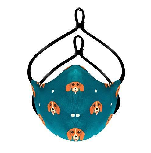 Breathe Designer Face Mask for Men, Women & Kids (Unisex) With Elastic...