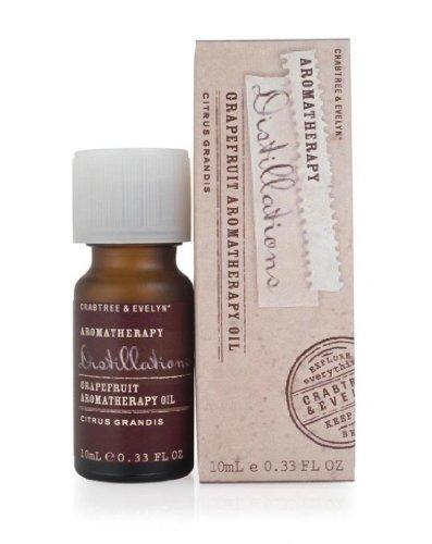 Aromathérapie.Le lot de 2 Huiles essentielles de Pamplemousse. 2 X 10 ml. Crabtree & Evelyn.