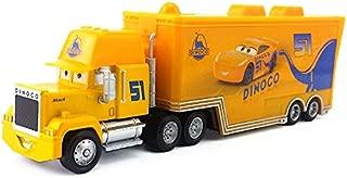 Disney Disney Pixar Cars 3 Dinoco Cruz Ramirez's Hauler Truck Diecast Toy Car 1:55 Loose in Stock &