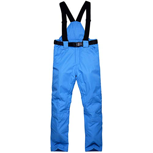 ski pak JSGJHXF2018 Nieuwe Winter Dikke Warm Skiën Broek Mannen Vrouwen Liefhebbers Winddicht Waterdichte Suspender Broek Sneeuw Snowboard Broek Plus Size